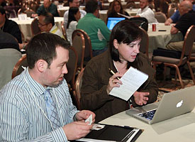 Attendees at the Desgn Technology Managers Conference