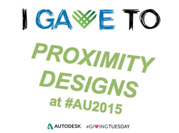 Proximity designs giving