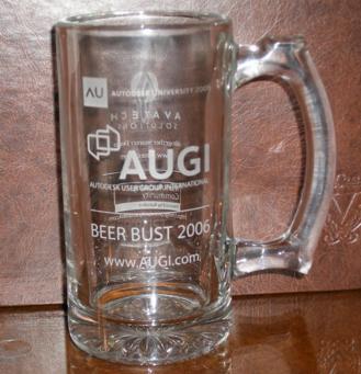 AUGI beer mug